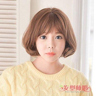 妹妹头的头发造型 妹妹头短头发(2)图片