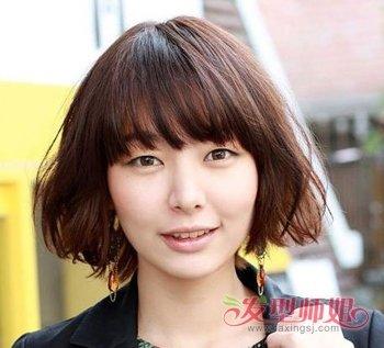 中年妇女长脸型发型 40岁女人怎样做头发使脸不显长(2图片