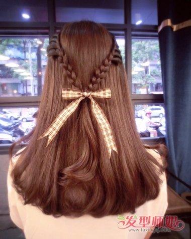 发型diy 长发扎发 >> 有什么简单好看女孩子爱扎的头发 女孩子的头发