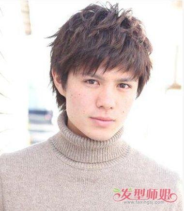 男生发型 男生短发 >> 男士脸大适合什么发型 大板脸适合的发型(3)图片