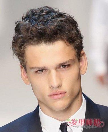 发型设计 >> 男生头发很细的适合烫什么类型的头 男生烫头发的种类图