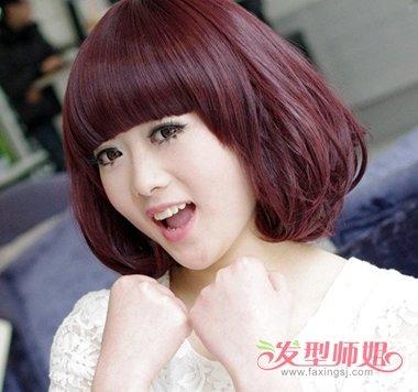 短发女生适合烫什么样的头发 怎样自己烫短头发(2)图片