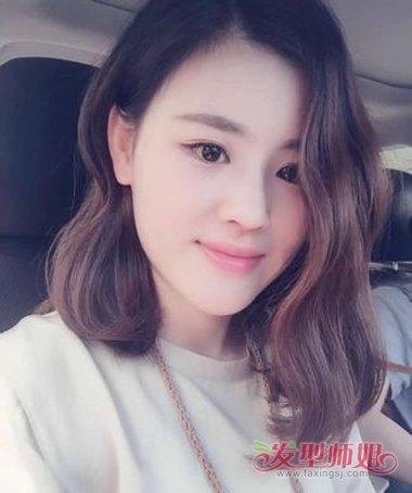 自己给自己烫头发2017短发图片烫发女生发型(3)16岁女中短发图片欣赏图片