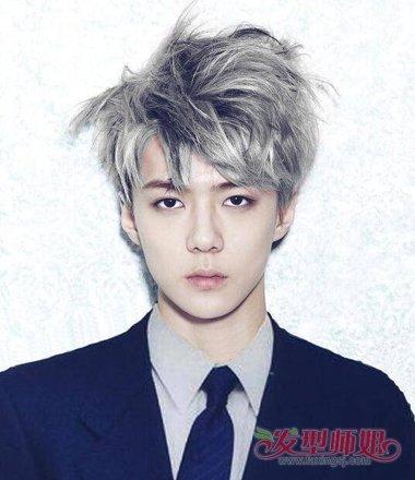 韩国男青年都梳什么发型 男青少年时尚发型大全图片