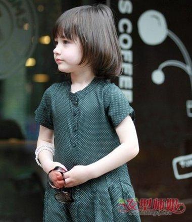 12岁小学生女发型短发 儿童短发女10岁