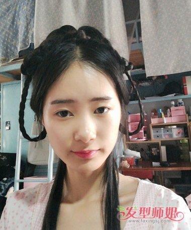 的做出来的哦~简单的古装头发怎么梳的步骤,详解怎么做女生发型更漂亮图片