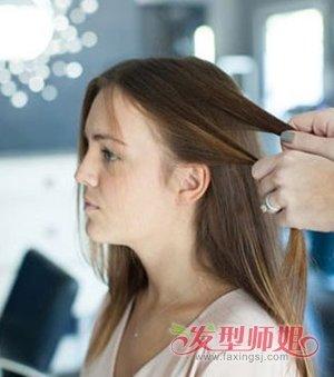 学生中分可以梳什么简单的发型 中分发型扎法步骤图片