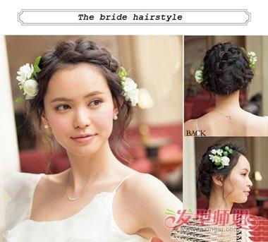婚纱发型设计的步骤图片 结婚当天新娘发型详细步骤(3图片