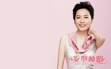俞飞鸿新款卷发美照气质佳 明星时尚发型赶紧学起来图片