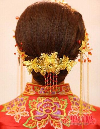 结婚的时候短头发怎么扎才好看 适合婚礼的短发新娘发型的步骤及图片