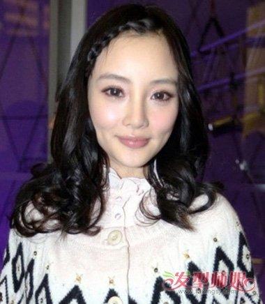 头发前面刘海怎么编 怎样编头发前面的刘海(4)_发型图片