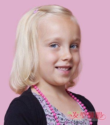 怎么样扎小女孩9岁可爱公主头发 儿童公主短头发的扎法图片