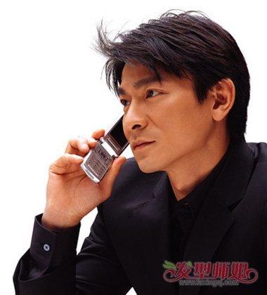 刘德华伤势会比较严重 回顾下天王的帅气发型(4)