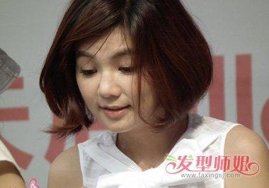 胖胖的圆脸女生该怎么打扮自己 脸胖胖的小姑娘发型(2图片