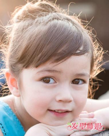 适合夏天简单的发型 小学生夏季发型(3)图片