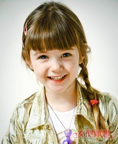 发型设计 儿童发型 >> 小孩公主时尚发型 小公主辫子发型图片(3)