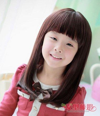 小女孩有什么好看的发型 10岁小女孩美丽发型图片
