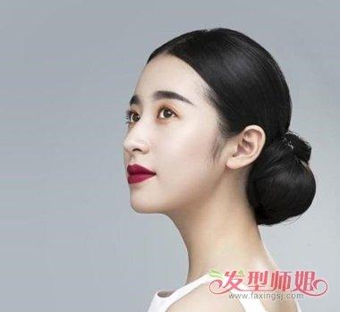 周雨彤长直发无刘海发型设计