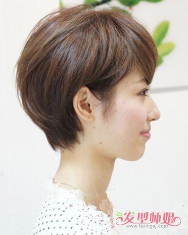 发型设计 短发 >> 肥婆短发型图 最新发型女士短发图片  2018-01-25