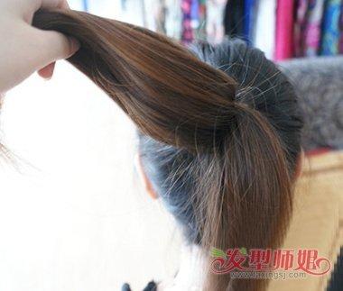 如何扎简单大方好看的头发 简单大方的发型扎法图片