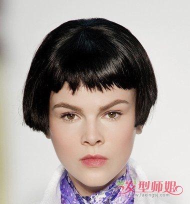 短发童花头发型图片