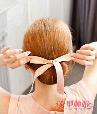 蝴蝶盘发器用法图解5图片