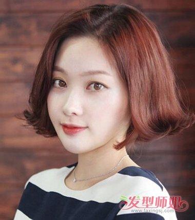 中老年妇女时尚反翘发型 中年人时尚发型造型图片(4)图片