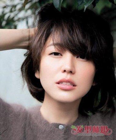 短发女生怎么成熟 成熟最短发的女生照片(2)图片