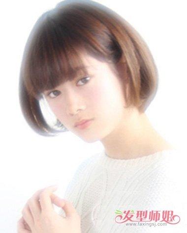 适合25岁左右的直发发型图片 直发内蓬发型图片女图片