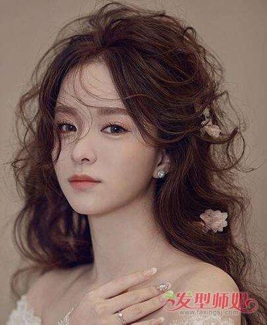 新娘子的发型,波西米亚风格的发型哪种款式最好呢?图片