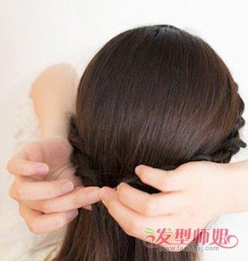 对口又好看的发型中分小学扎法中分发型扎法好看简单a发型学生图片