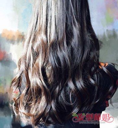 2018时尚大波浪卷发型 2018女款时尚发型(4)