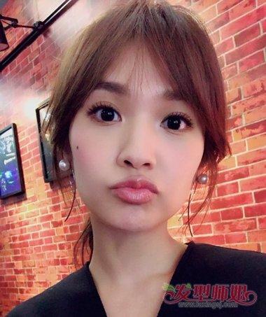 发型脸型 圆脸 >> 杨丞琳再战偶像剧 圆方脸发型甜如蜜(2)  2017-04图片