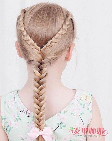 13岁女孩如何扎蝴蝶结好看 扎蝴蝶结小辫的方法(4)图片