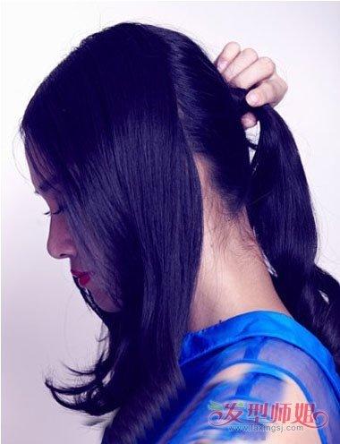 女性干练最简单的盘发 干练女性盘发步骤图片