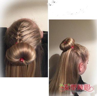 女童流行发型教程 韩国儿童的发型