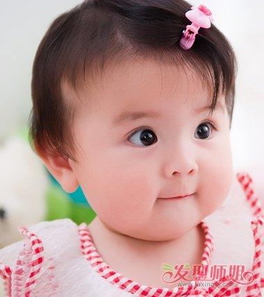 幼儿宝宝发型图片 一周岁女宝宝发型图片