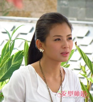贤妻电视剧演员表_电视剧里的明星扎马尾没有碎发 电视剧贤妻郑广美的马尾扎法