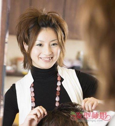 怎么成为女发型师 女发型师如何着装(3)图片