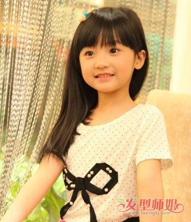 梳9岁小孩漂亮的发型 漂亮简单的发型教我(4)图片