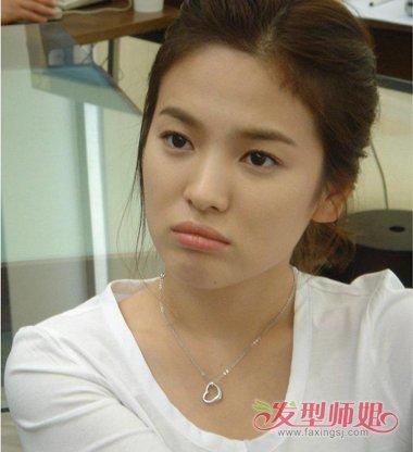 韩国电视剧里女主角的盘发头型