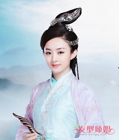 赵丽颖碧瑶角色做蜡像 比花千骨更美的仙范儿发型(4)图片