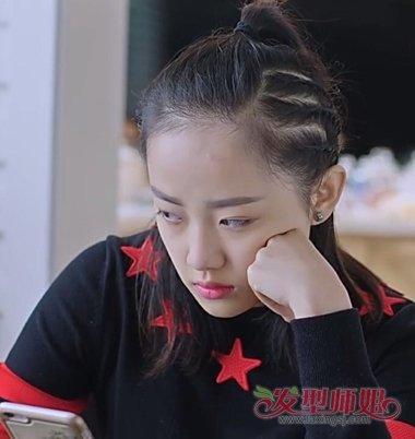 吴佳怡老爸当家发型 头发能扎就别散着(3)图片
