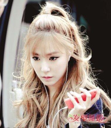 韩式苹果头发型扎法步骤 苹果发型怎么扎图片