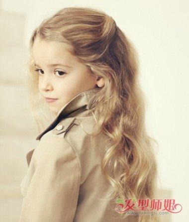 儿童想绑漂亮的发型 不用编也能梳出的漂亮发型(2)