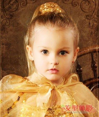 发型设计 儿童发型 >> 今年儿童最流行什么发型 小女孩儿童个性发型