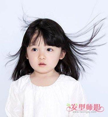5岁小女孩漂亮发型 怎样梳出简单漂亮的发型(2)图片