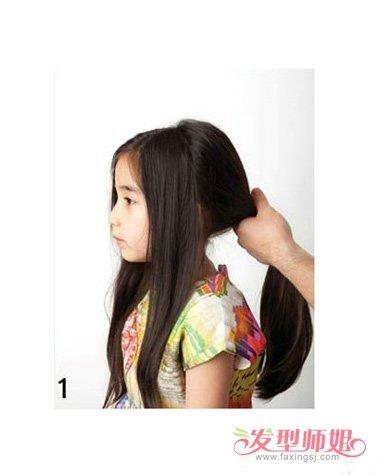 怎么给宝宝扎好看的发型 小宝宝发型绑扎图解图片