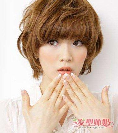 热烫短发的方法 热烫小花图片(3)图片