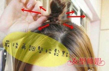 苹果头发型怎么扎 苹果头发型扎法(3)图片